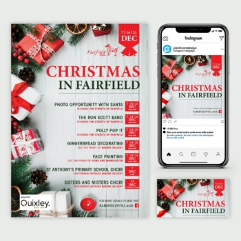 Fairfield Christmas campaign
