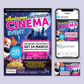 Fairfield Cinema campaign